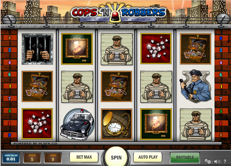 Cops And Robbers Slots